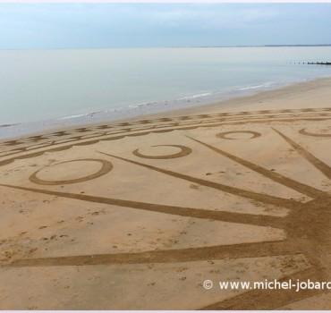 Fresque Beach art Jumla, Michel Jobard