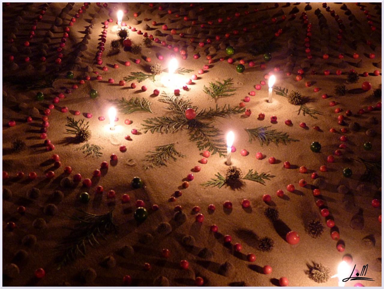 Land art Lumière, Michel Jobard