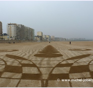 Fresque Beach art Laniakea, Michel Jobard