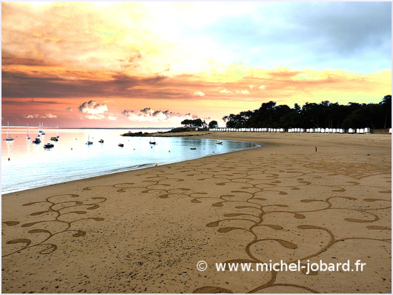 Fresque Beach art Pearl, Michel Jobard