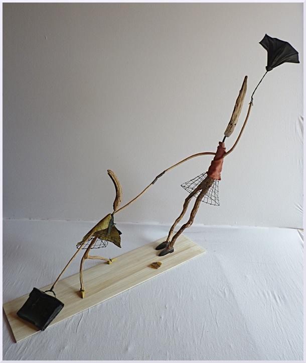 Sculpture La rentrée des Classes