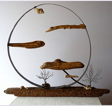 Sculpture Poisson de lune, Michel Jobard