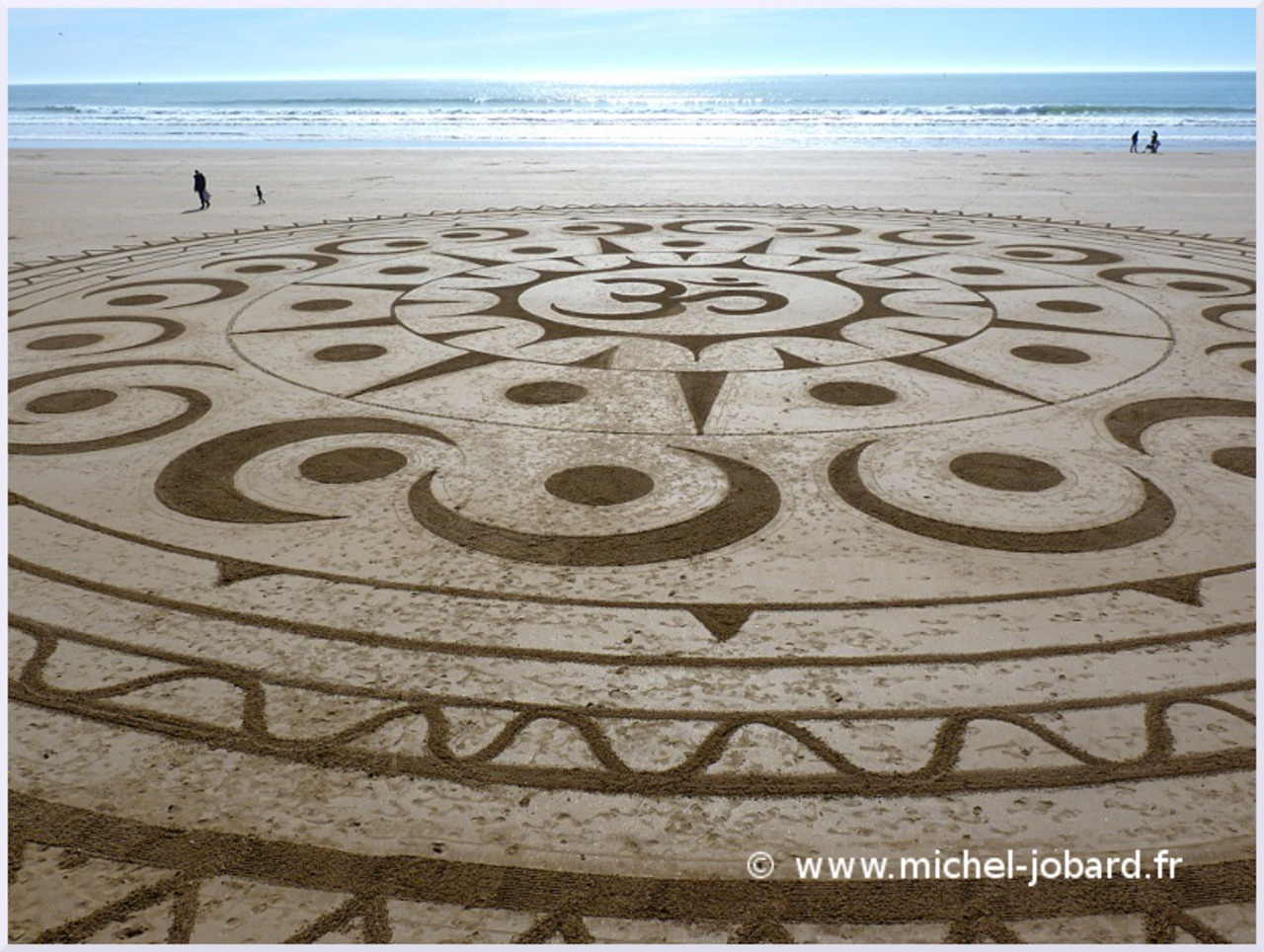 Fresque Beach art Ohm, Michel Jobard