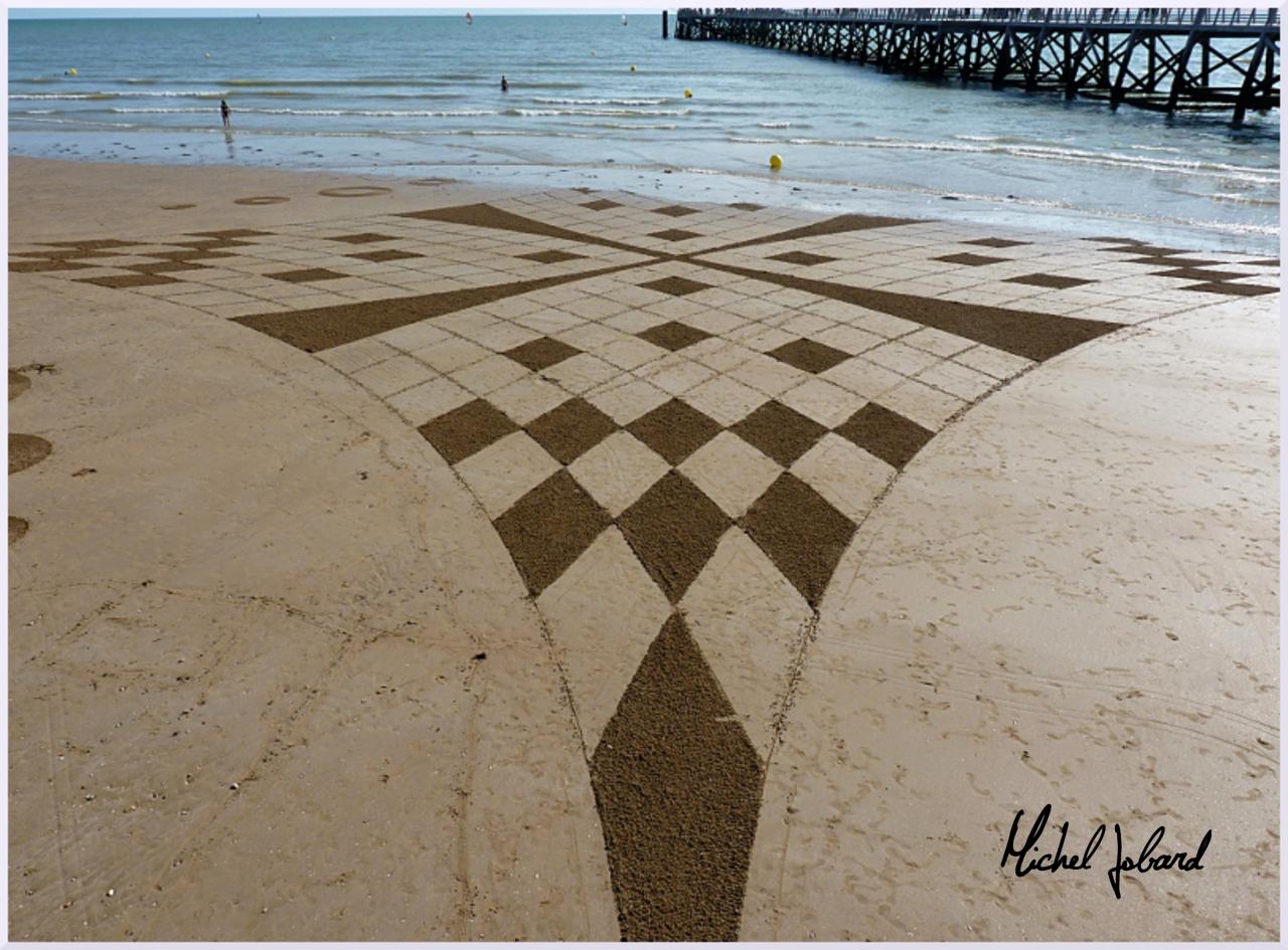 Fresque Beach art Elara, Michel Jobard