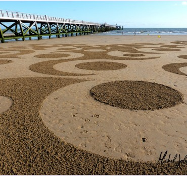 Fresque Beach art Ohm, Michel Jobard