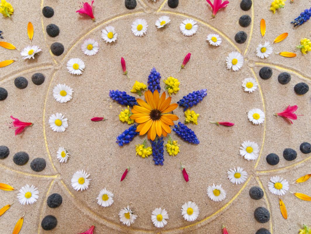 Mandala de printemps 02 P1110502